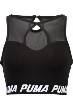 Femme Débardeurs - Puma STUDIO Débardeur black Tenue De Sport Femme 0c3b8a0c97d