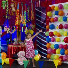 Balloon pop with prizes