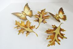 Vintage Copper Brass Butterflies and by WidhalmsCollectibles, SOLD