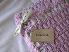 Baby Blanket Crochet Lilac  Child Stroller by wisdomfromabove, $41.50