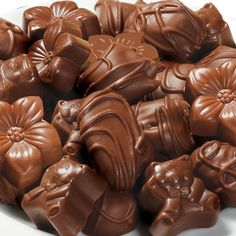 A variety of Wolfgang's peanut butter chocolates.