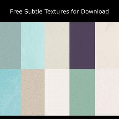 Free Subtle Textures for Download