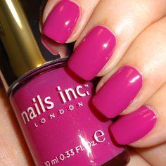 Nails Inc Pont Street Mews #nailsinc #pink