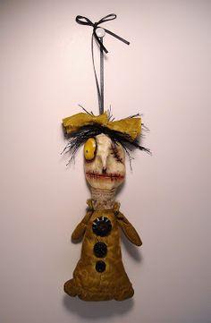 Junker Jane Art Dolls and Soft Sculptures: Monster Maude