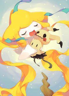 Jirachi & Mimikyu