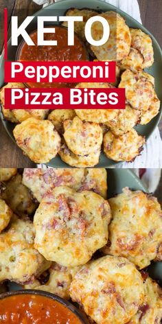 low carb meals Easy Keto Pepperoni Pizza Bites are bursting with pepperoni and mozzarella cheese! At one net carb each these make the perfect low carb lunch! Healthy Low Carb Recipes, Diet Recipes, Cooking Recipes, Smoothie Recipes, Soup Recipes, Chili Recipes, Meatloaf Recipes, Easy Diabetic Recipes, Low Carb Crockpot Recipes