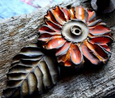Lisa Peters Stoneware Fall Beads | Flickr - Photo Sharing!