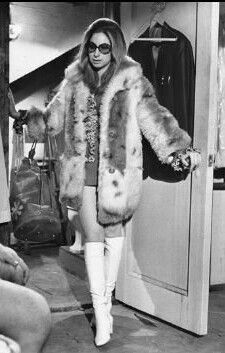 Barbra Streisand in a movie