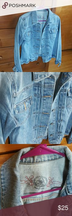 Gap 1969 pintuck jean jacket Gap 1969 pintuck jean jacket, perfect condition, a perfect staple for your wardrobe! GAP Jackets & Coats Jean Jackets