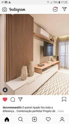 Living Room Tv Unit Designs, Home Design Living Room, Living Room Modern, Living Room Interior, Home And Living, Living Room Partition, Condo Living Room, Living Room Decor Inspiration, Home Deco