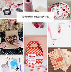 10 Free Pretty Printable Valentines - Poppytalk