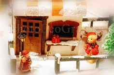 Winter Landscape, Light And Shadow, Fairy Tales, Lights, Toys, Home Decor, Activity Toys, Decoration Home, Winter Scenery
