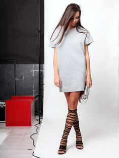 Gladiator sandals Shirt Dress, T Shirt, Gladiator Sandals, Sweaters, Dresses, Fashion, Supreme T Shirt, Vestidos, Moda