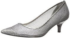 Adrianna Papell Womens Lois Dress Pump Gunmetal 85 M US ** For more information, visit image link. (This is an affiliate link)