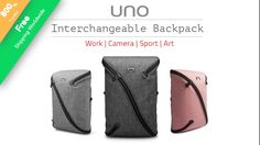 UNO II - The First Interchangeable Backpack project video thumbnail
