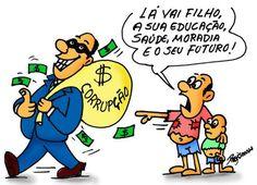 Brasil-Corrupção-2015-Charge-Corrupção-Charge de Regis Soares em 26.09.2015