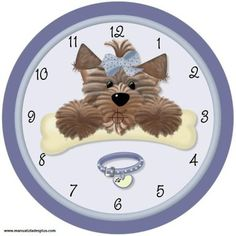 Mis Laminas para Decoupage Cute Teddy Bear Pics, Teddy Bear Pictures, Clock Face Printable, Clock Template, Shabby Chic Clock, Handmade Clocks, Clay Jar, Baby Clip Art, Cute Animal Photos