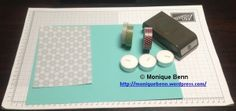 small tealight box step materials