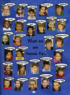 elementary yearbook page ideas | Start Early … Relieve Stress!