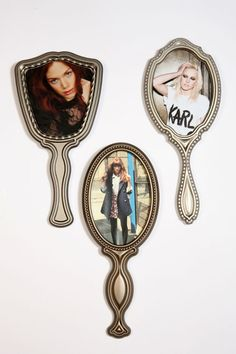 vintage hand mirror frames