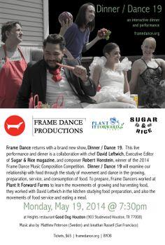 Frame Dance Presents Dinner/Dance 19