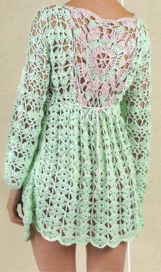Crochet Coat, Freeform Crochet, Crochet Cardigan, Crochet Yarn, Crochet Clothes, Crochet Designs, Crochet Patterns, Frock Patterns, Finger Crochet