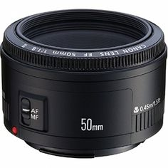 Canon EF Objectif 50 mm f/1.8 II Canon http://www.amazon.fr/dp/B00005K47X/ref=cm_sw_r_pi_dp_9IgBvb11MFPBQ