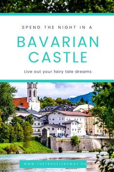 Have you ever wondered what it would be like to spend the night inside a Bavarian castle? #castles #europe #travel #germany #bavaria