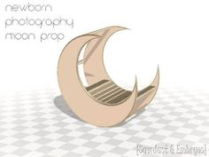 Tutorial on building a moon prop for newborn photography {Sawdust and Embryos}
