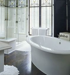 I just want a big bathtub... don't really care what else is going on with the bathroom decor. ;0P