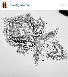 Olivia fayne tattoo design eye candy tattoos piercings pinterest tatouages dessin - Mandalas signification formes ...