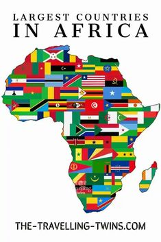 15 Largest Countries in Africa – Facts And What To See in Them West Africa, North Africa, Congo River, Largest Desert, Deserts Of The World, Travel General, African Traditions, Largest Waterfall, Addis Ababa