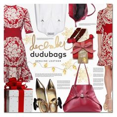 """""""Dudubags.com 9"""" by barbarela11 ❤ liked on Polyvore featuring Valentino, Dolce&Gabbana, Christian Louboutin, calypso, winteressentials and dudubags"""