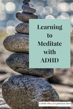 I have become a wanna-be meditator. I spend at least 10 minutes per day counting my breath and listening to guided meditations.  Say what you will - I am much more calm, centered and able to handle my life.