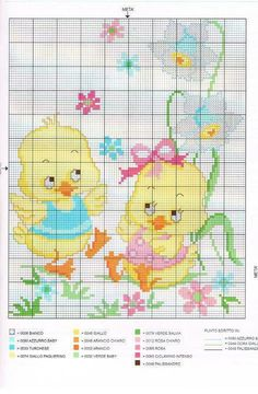 Gallery.ru / Фото #19 - italia - ergoxeiro Diy Embroidery, Cross Stitch Embroidery, Embroidery Patterns, Cross Stitch Patterns, Cross Stitch Heart, Cross Stitch Animals, Cross Stitch Flowers, Easter Cross, Cross Stitching