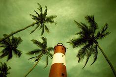 Lighthouse Beach Kovalam, South India — bravebird · Lomography