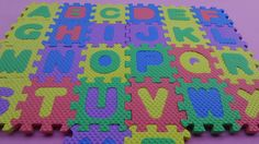 Alphabet (ABC) Puzzle -Education Puzzle -Surprise Toys and Plays