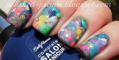 Rainbow Splatters (inspired by Coldplay)