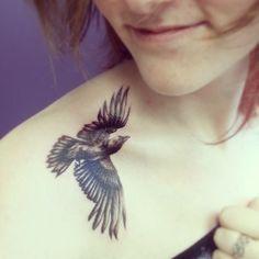 native american raven tattoo - Google Search