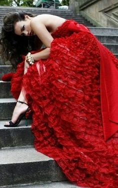 [ Wedding Dresses Trends Red Wedding Dress Hairs ] - Best Free Home Design Idea & Inspiration Strapless Dress Formal, Prom Dresses, Wedding Dresses, Dresses 2013, Dress Prom, Prom Dress Shopping, Red Gowns, Red Fashion, Fashion Photo