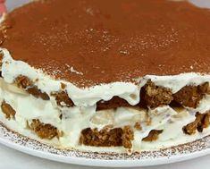 "Tort ""Pincher"" incredibil de gustos. Gustul lui va suci mințile tuturor! - Gospodina Kiev Cake, Romanian Food, Russian Recipes, Sweet Cakes, Tiramisu, Nutella, Food And Drink, Cooking Recipes, Sweets"