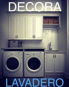 Ideas para decorar tu lavadero en tan sólo 5 pasos. https://www-planetadeco-com.cdn.ampproject.org/c/www.planetadeco.com/lavaderos/ideas-para-decorar-lavadero/amp/ #decorarlavanderia #loundryroom #lavadero #cuartodelavado #cuartodelavar