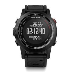 Garmin Fenix 2 | Track everything from distance and pace to heart rate and recovery time, all from a compact wrist-worn device. It has a huge array of features packed into the watch, including an altimeter, a barometer, a compass, high-sensitivity GPS, and much more. With the ability to synchronize with other Garmin devices, you can track and share your progress. ( $400 )