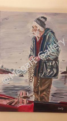 ΚΑΛΛΙΤΕΧΝΗΣ: Christine Abou-Negm ΔΙΑΣΤΑΣΕΙΣ: 50X70CM ΥΛΙΚΟ: ΑΚΡΥΛΙΚΑ TIMH:550,00 € Blue Artwork, Shades Of Blue, Sea, Painting, Painting Art, The Ocean, Paintings, Ocean, Painted Canvas