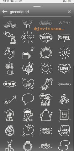 - Greendotori 2 – -… Greendotori - 50 Sea Line Inverted Icons - Icons Pastel arrow doodle vector collection Instagram Blog, Ideas De Instagram Story, Instagram Emoji, Creative Instagram Stories, Instagram And Snapchat, Instagram Design, Instagram Quotes, Instagram Snap, Friends Instagram