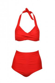 This is the one I've been looking for!  Love 50s inspired swimwear