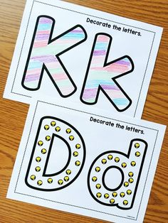 Alphabet Notebooks w