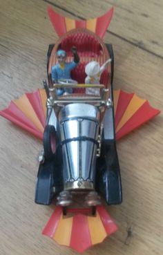 "Corgi Toys Vintage ""Chitty Chitty Bang Bang"" Car with Some Figures"