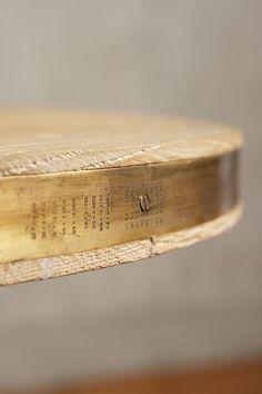 Folkthread Side Table, Gablebase - anthropologie.com