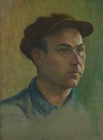 Egich Chubar Portrait - Panos Terlemezian